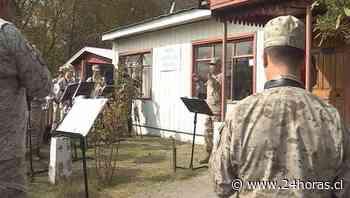 Banda del Chacabuco llevó alegría a ancianas de Hogar - 24Horas.cl