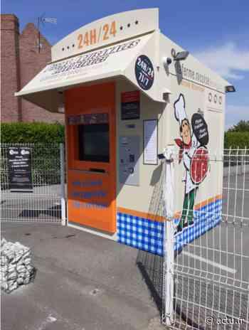Un distributeur de pizzas installé à Friville-Escarbotin - actu.fr