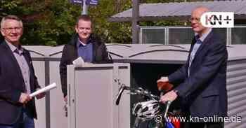 Klimaschutz in Wahlstedt - Neue Fahrradboxen am Bahnhof aufgestellt - Kieler Nachrichten