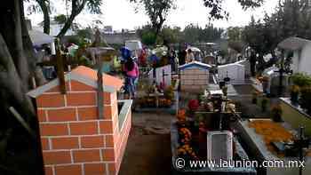 Reabren los panteones de Puente de Ixtla - Unión de Morelos