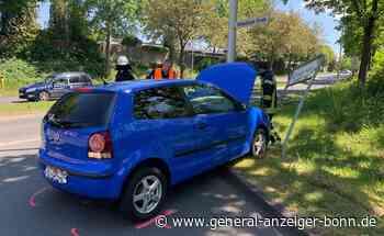 Kollision zweier Fahrzeuge: Zusammenstoß auf dem Siebengebirgsring in Meckenheim - General-Anzeiger