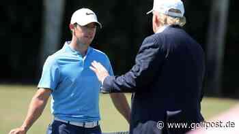 Rory McIlroy kritisiert Donald Trump und würde nicht mehr mit ihm Golf spielen - Golf Post
