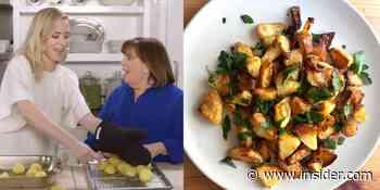 I made Emily Blunt's roast potatoes that crashed Ina Garten's website - Insider - INSIDER