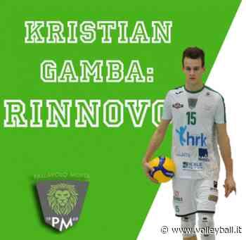 Motta di Livenza: Rinnova l'argento mondiale U21 Kristian Gamba - Volleyball.it