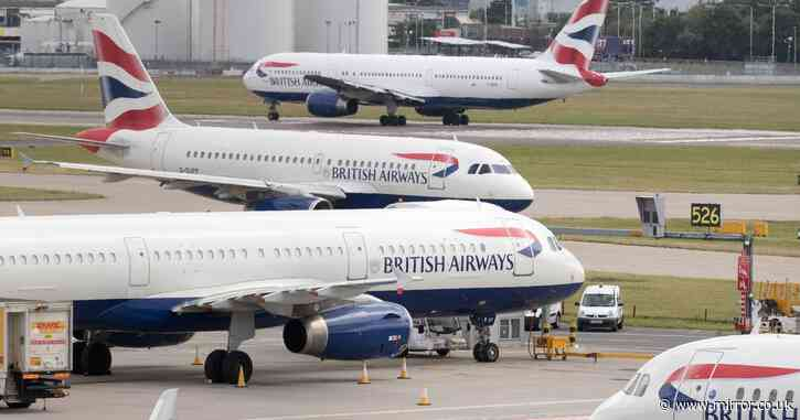 British Airways cabin crew 'face 75% pay cut with salaries slashed to £24,000' - Mirror Online