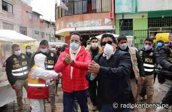 Ministro del Interior chequea mercados en Cerro de Pasco - RADIO KARIBEÑA