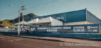 Prefeito de Guapimirim inaugura Centro de Triagem de covid-19 - Rede Tv Mais