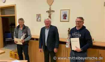 Urkunden für ausscheidende Mitglieder des Gemeinderats Zandt - Mittelbayerische
