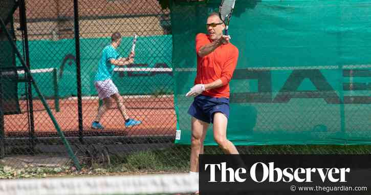'I've been going bananas without it': tennis obsessives pick up their rackets again