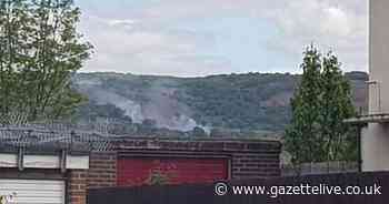 Firefighters tackling blaze covering 'large area of grassland' on Eston Hills - Teesside Live