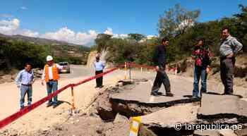 Cajamarca: fallas geológicas siguen activándose en Cajabamba tras sismo - LaRepública.pe