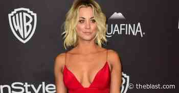 Kaley Cuoco Looks Stunning For 5.30 AM Nightshirt Coffee With Nerd Glasses On Instagram - The Blast