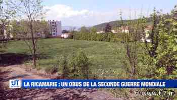 Une bombe découverte à La Ricamarie - Reportage TL7 - TL7, Télévision loire 7 - tl7.fr