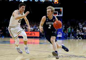 Why is Mac McClung leaving Georgetown?