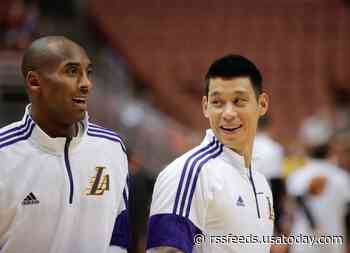 Jeremy Lin tells Kobe Bryant story from 2015 trade deadline: 'Came to say goodbye to some of you bums'