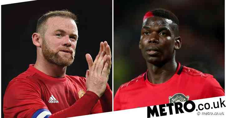 Wayne Rooney urges Ole Gunnar Solskjaer to change Paul Pogba's position at Manchester United