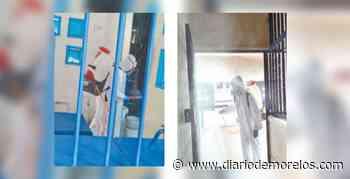 Sanitizan cárcel de Jojutla para prevenir casos de COVID-19 - Diario de Morelos