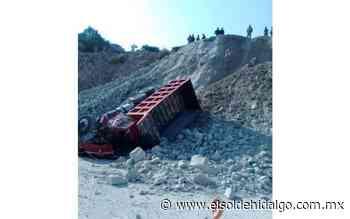Muere conductor tras volcar el camión en Tula - El Sol de Hidalgo