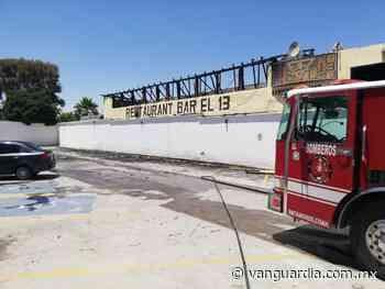 """Se quema """"Bar el 13"""" en Matamoros, Coahuila - Vanguardia MX"""