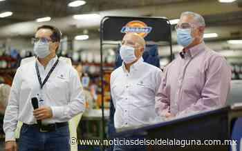 Coahuila recibe 5 mil batas de la empresa VF en Matamoros - Noticias del Sol de la Laguna