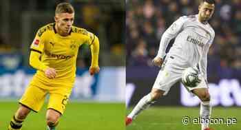 Thorgan Hazard anotó gol y brindó una asistencia: las mismas cifras de su hermano Eden en toda la temporada con Real Madrid - El Bocón