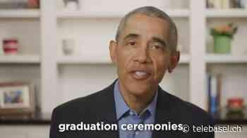 Stars um LeBron James und Barack Obama feiern Highschool-Schüler - Telebasel
