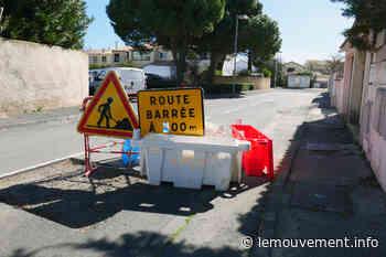 Frontignan : Un nouveau trottoir rue Guizot - le mouvement - lemouvement.info