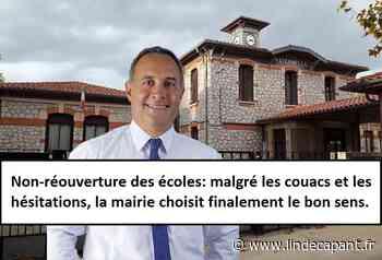 Frontignan - Non-réouverture des écoles: malgré les couacs, la mairie choisit finalement le bon sens - L'indécapant
