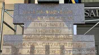 28 maggio, lavori di conservazione per la stele di Piazza Loggia - QuiBrescia.it