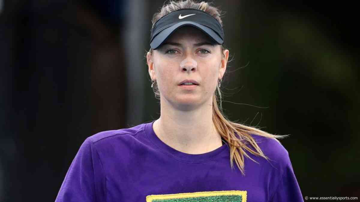 """WATCH: Maria Sharapova Calls Herself A """"Cow On Ice"""" On David Letterman Show - Essentially Sports"""