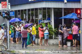 Litoral e Sertão Central registram chuvas de sexta para sábado - O POVO