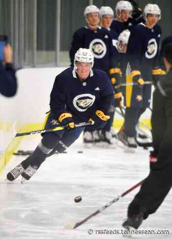 Being traded for 10 players wasn't craziest thing to happen to Preds prospect Philip Tomasino this season