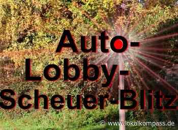 Auto-Lobby-Scheuer-Blitz: Wie bescheuert ist das denn? - Lokalkompass.de