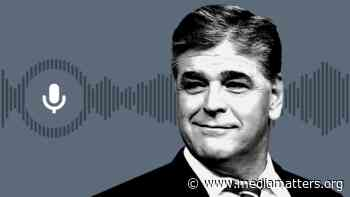 Sean Hannity criticizes sending financial aid to blue states hit hardest by coronavirus - Media Matters for America