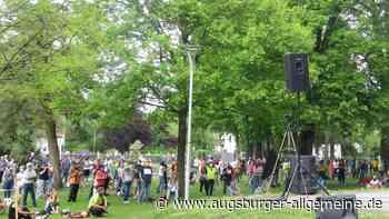 Vierte Krumbacher Demo für Grundrechte - Augsburger Allgemeine