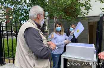 Argenteuil : l'association de locataires distribue 500 masques aux habitants de HLM - Le Parisien