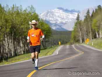 Okotoks endurance-runner refocuses for coast-to-coast record attempt in 2021 - Calgary Sun