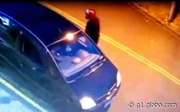 Polícia procura homem que furtou carro com criança dentro em Bauru; vídeo - G1
