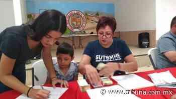 En Huatabampo cubren adeudo de pagos de becas a hijos de sindicalizados - TRIBUNA