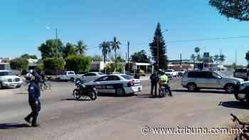 La vigilancia vial disminuye los accidentes en las calles de Huatabampo - TRIBUNA