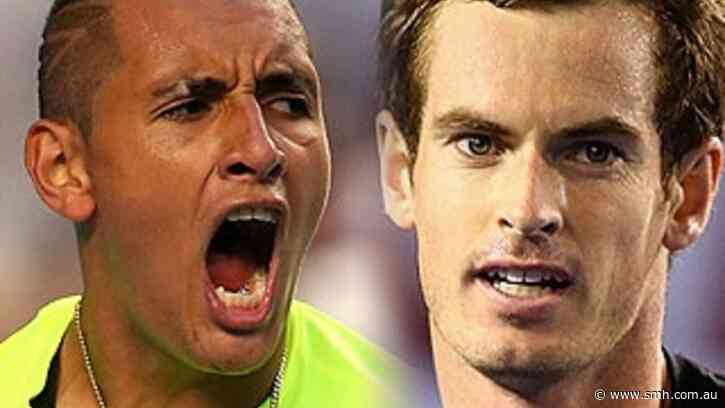 Kyrgios swipes Djokovic with Murray in late-night live chat - The Sydney Morning Herald