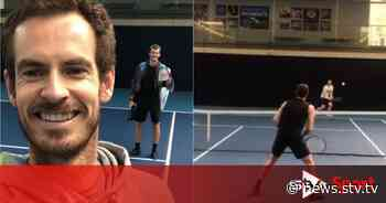 Andy Murray celebrates birthday with a return to the court - STV News