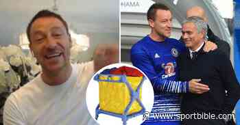 John Terry Tells Hilarious Story Of Jose Mourinho Jumping Out Of Laundry Basket Looking 'A Million Dollars' - SPORTbible