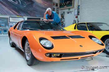 Jay Leno's crazy ride with Elon Musk on 'Jay Leno's Garage' - New York Post