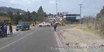 En Zitacuaro bloquean carretera por rumores de «Coronavirus» - UnomásUno