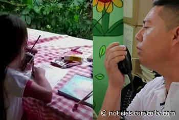 Estudiantes de escuela rural de Cocorná reciben sus clases a través de radio - Noticias Caracol