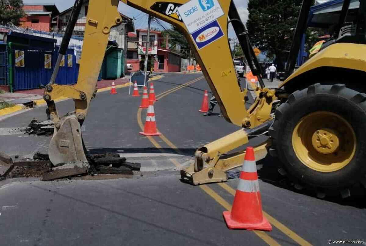 AyA inicia instalación de tuberías entre Zapote y Curridabat para llevar aguas residuales a planta - La Nación Costa Rica