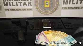 Brigada Militar prende casal por roubo a pedestre em Esteio - Portal de Camaquã