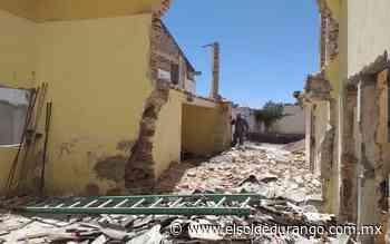 Inicia reconstrucción del teatro Francisco Villa en San Juan del Rio - El Sol de Durango