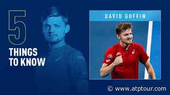 Five Things To Know About David Goffin - ATP Tour